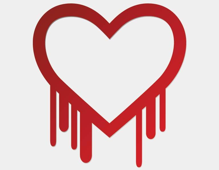 Bleeding heart - Heartbleed