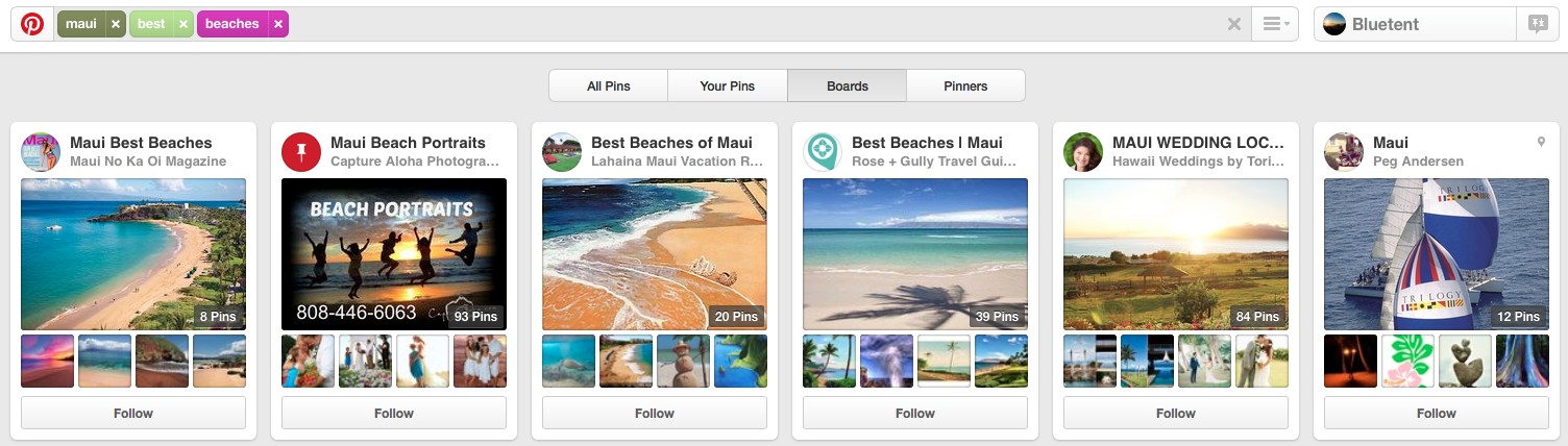 Pinterest Search for Maui Best Beaches