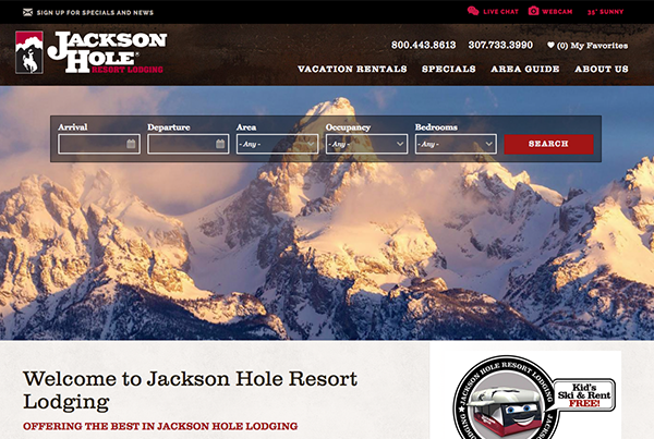 Jackson Hole Resort Lodging | Rezfusion Pro